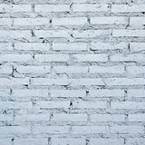 High resolution pictures clean blue modern pattern of brick wall Stock Photo
