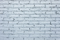 High resolution pictures clean blue modern pattern of brick wall Stock Images