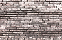 High resolution pictures vintage orange pattern of brick wall Stock Image