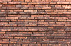 High resolution pictures vintage orange pattern of brick wall Stock Photos