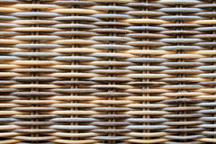 High resolution rattan texture close up. Stock Images