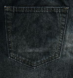 Jeans Pocket Background XXXXL Royalty Free Stock Photo