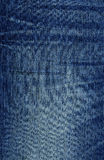 Denim Fabric Texture - Blue Royalty Free Stock Photo
