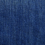 Denim Fabric Texture - Blue Stock Images