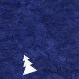 Rice Paper Texture - Christmas Blue XXXXL Royalty Free Stock Images