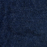 Denim Fabric Texture - Dark Blue Stock Image
