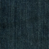 Denim Fabric Texture - Imperial Blue Royalty Free Stock Photos
