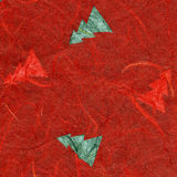 Rice Paper Texture - Christmas Red XXXXL Royalty Free Stock Photography
