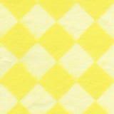 Rice Paper Texture - Checkered Yellow XXXXL Stock Image