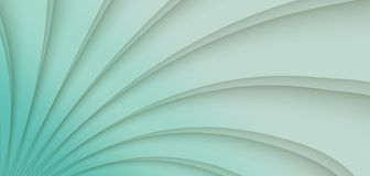 High resolution sea blue radiating sunburst rays geometric abstract paper background. High resolution geometric pattern of radiating rays and smooth lines in a Stock Image