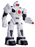 High resolution stylish robotic toy Royalty Free Stock Photo