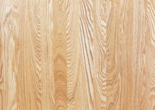 Texture of ash-tree furniture board Stock Photos