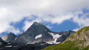 Grossglockner valley time lapse. High resolution time lapse shot of the alpine landscape of Koednitztal, Eastern Tyrol, Austria, prominently featureing Austria`s stock video
