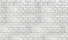 High resolution white brick seamless texture Royalty Free Stock Photos