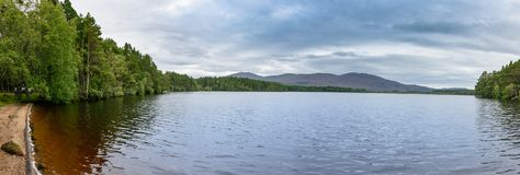 Loch Garten in the Cairngorms National Park, Scotland Royalty Free Stock Photo