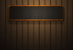 High resolution wood board wall light shadow Royalty Free Stock Image