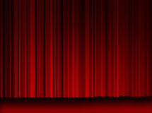 High Resulation Movie Curtains Royalty Free Stock Image