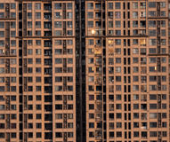High-rise accommodation. Take in Mianyang,China Royalty Free Stock Photography