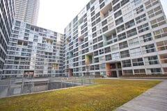 High rise apartment royalty free stock photos