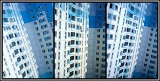 High-rise apartment building Stock Photo