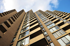 High rise apartment building Royalty Free Stock Photos