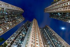 High rise apartment building Royalty Free Stock Image