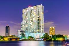 High rise apartment building in Bangkok Royalty Free Stock Photo