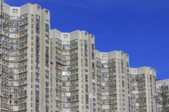 High-rise apartment buildings. In Hong Kong Royalty Free Stock Images