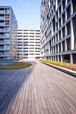 High rise apartment buildings royalty free stock images