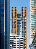 High-rise apartment buildings Royalty Free Stock Photo