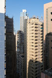 High-rise apartment buildings Hong Kong Royalty Free Stock Photography