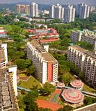 High-rise apartment flats in Singapore Royalty Free Stock Photography