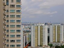 High Rise Apartments. Blocks of high rise apartments in Singapore Stock Photos