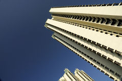 High Rise apartments. High rise, high density residential apartments Stock Photos