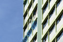 High rise apartments. Close up of a High rise apartments Royalty Free Stock Photo