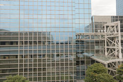 High-rise apartments in Japan. The high rise apartments in Japan Royalty Free Stock Image