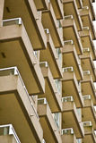 High rise balconies Royalty Free Stock Photos
