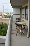 High rise balcony Stock Images