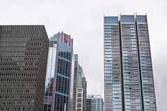 High rise buidling in city. High rise building in city view Stock Image