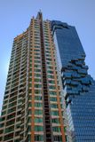 High rise building in Bangkok Is both a residential office. High-rise building for living in the capital of Thailand Currently very popular royalty free stock photos