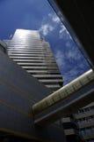 high rise building in bangkok of thailand Stock Photos