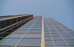 High rise building from below Royalty Free Stock Images