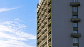 High-rise building in blue sky Stock Photo