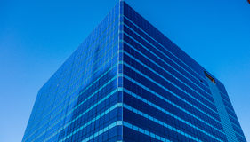 High rise building in blue Royalty Free Stock Photo
