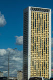 High-rise building in the capital of Russia - Moscow. Royalty Free Stock Photography