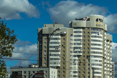 High-rise building in the capital of Russia - Moscow. Royalty Free Stock Images