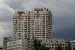 High-rise building in the capital of Russia - Moscow. Stock Images