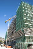 High-rise building construction site Stock Images