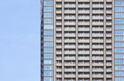 The high rise building. In downtown royalty free stock photography