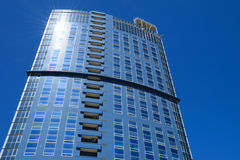 High-rise building facade Royalty Free Stock Images
